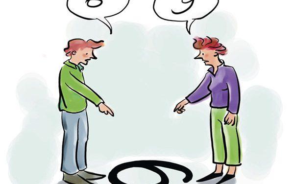 Zoek verbinding in plaats van je gelijk